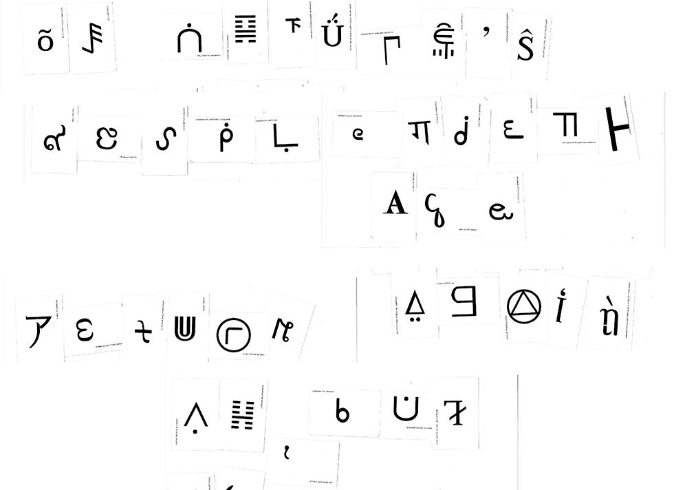 Unicode Class Vernacular