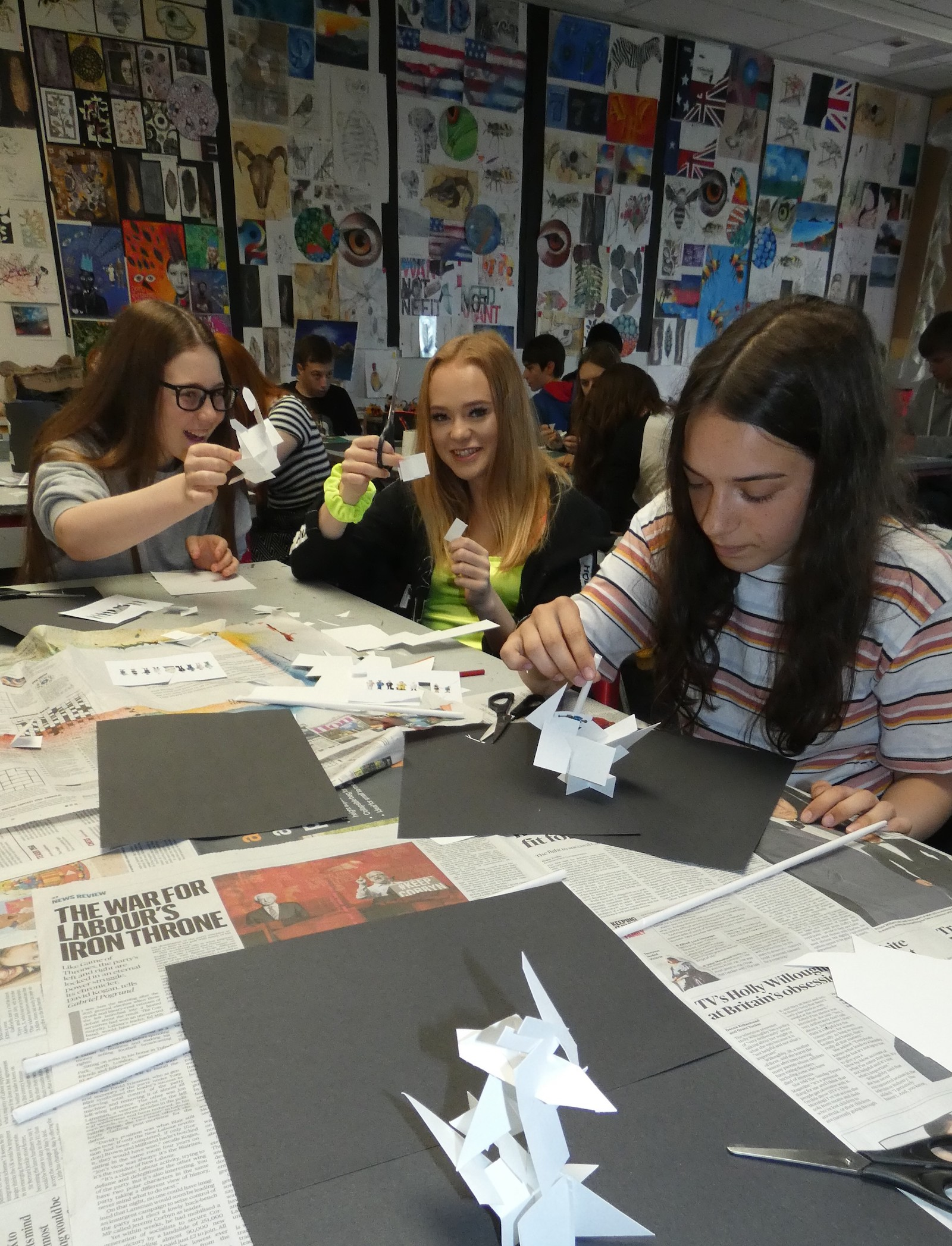 Marple Hall School Stockport - Creative Lesson