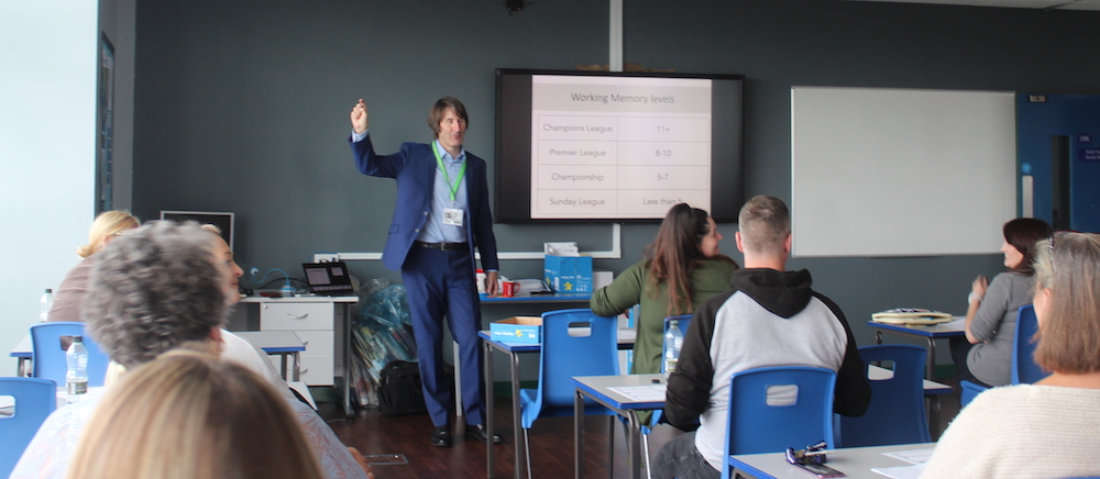 The Uncertainty Principle. Mark Burns delivers leading CPD to staff at Accrington Academy.