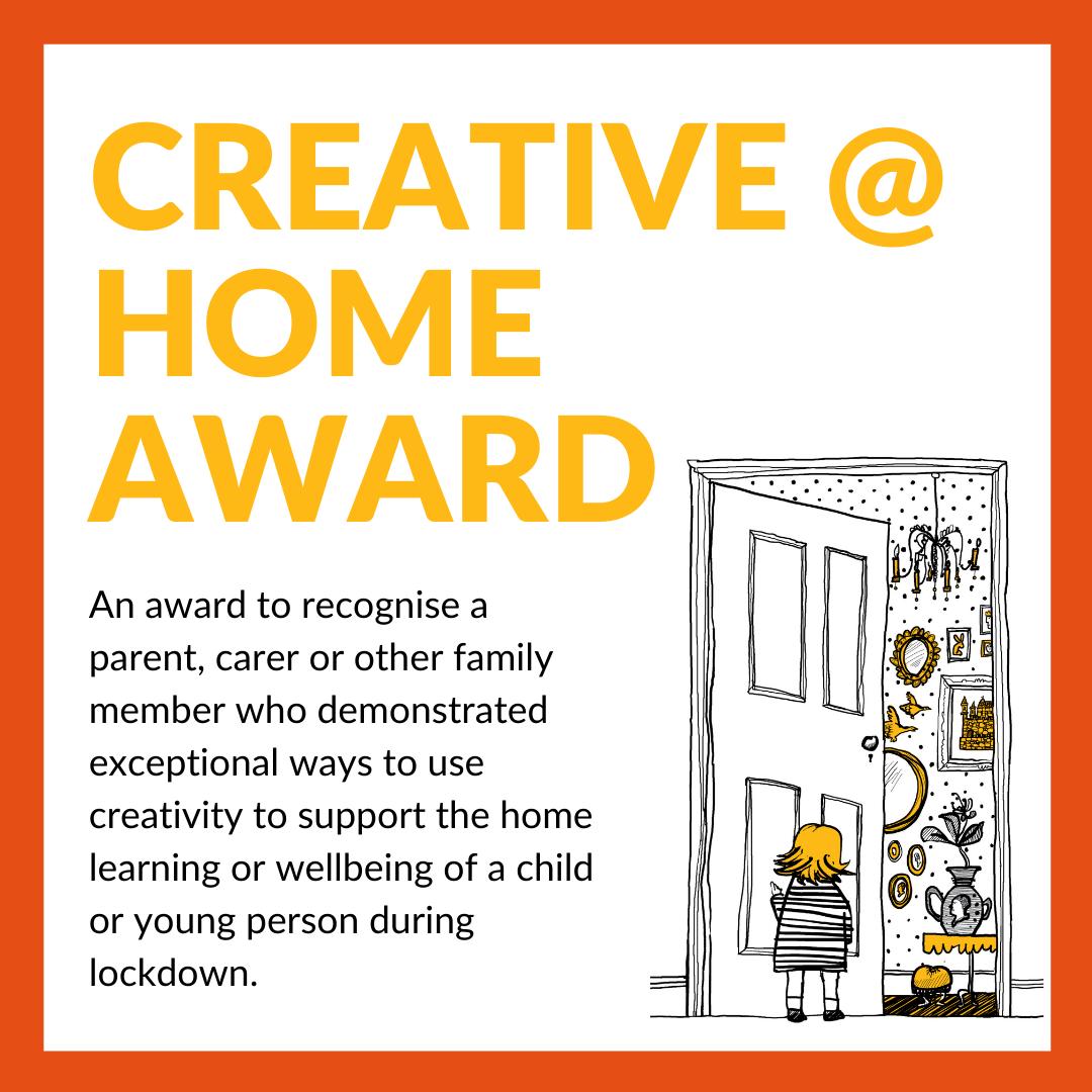 The Creative @ Home Award