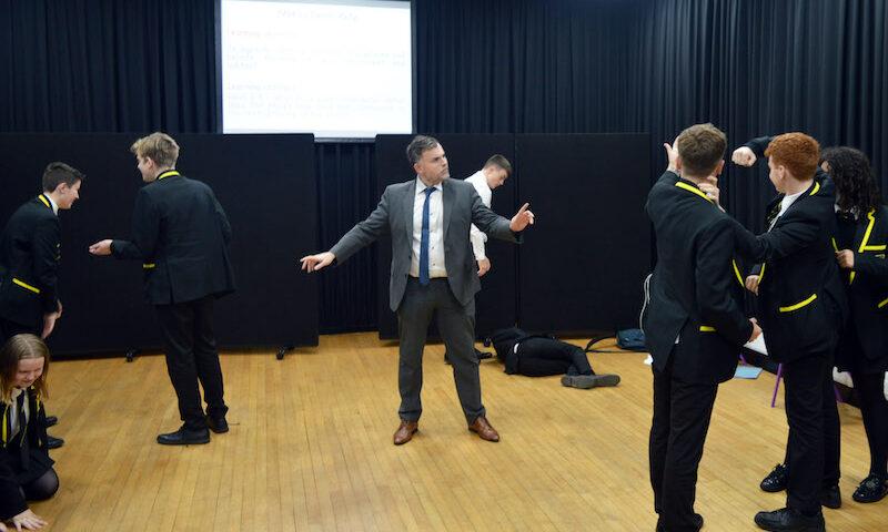 Stockport Grammar School Drama Class