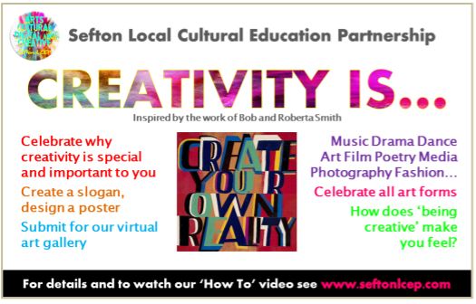Sefton Creativity Is Poster